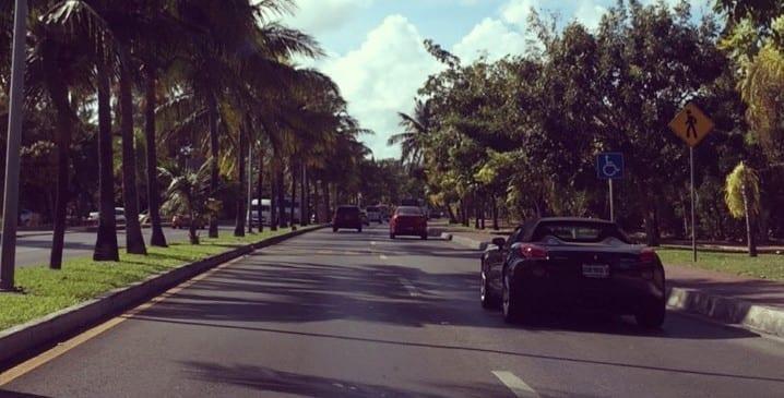 Boulevard Kukulkán en Cancún, Riviera Maya