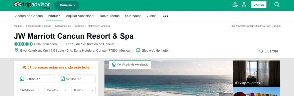 Usa Tripadvisor para ver las opiniones de otros usuarios