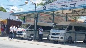 Estación de Servicios Colectivos Foráneos en Playa del Carmen (Foto: Servicio Colectivos Foráneos)