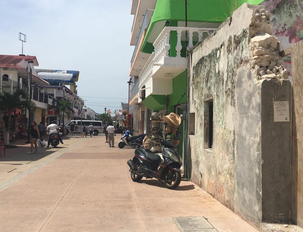 Las calles de San Miguel de Cozumel