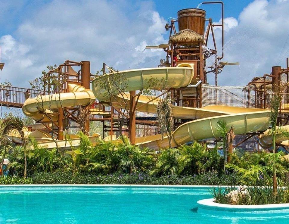El parque acuático Jungala en Riviera Maya